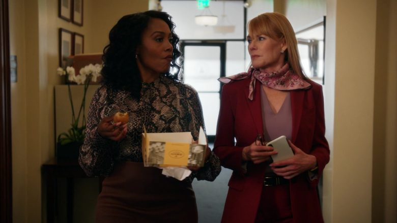 Porto's Bakery & Café Food Enjoyed by Simone Missick as Judge Lola Carmichael in All Rise Season 1 Episode 10 (1)