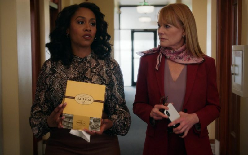 Porto's Bakery & Café Food Enjoyed by Simone Missick as Judge Lola Carmichael in All Rise Season 1 Episode 10 (2)