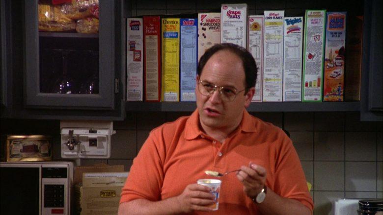 Post Cereals, General Mills Cheerios, Nabisco, Kellogg's in Seinfeld Season 5 Episode 8 (1)