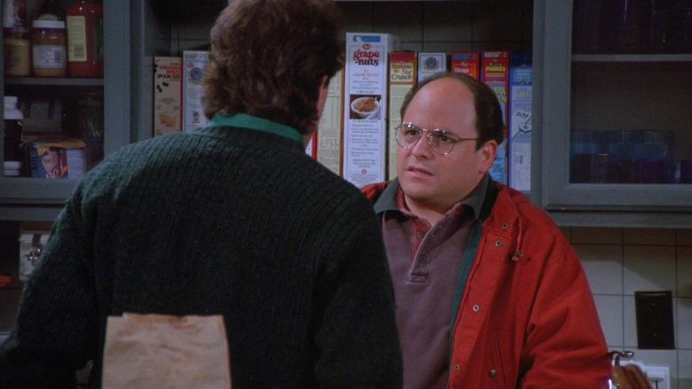 Post Grape-Nuts Cereal in Seinfeld Season 7 Episode 9 The Sponge