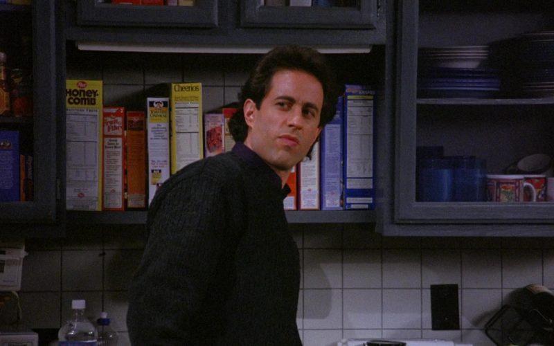 Post HoneyComb, Quaker, Cheerios Cereals in Seinfeld Season 6 Episode 16 The Beard