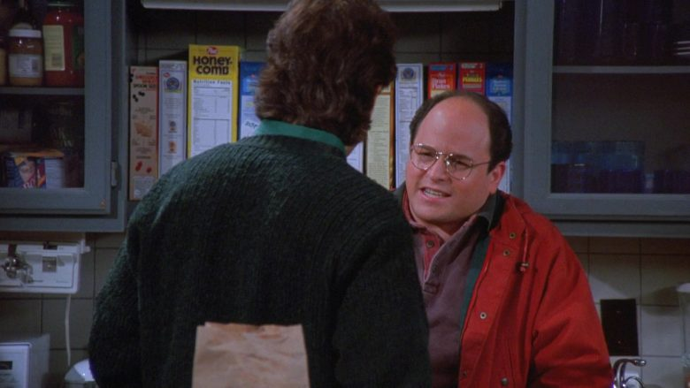"""Post Honeycomb Cereal in Seinfeld Season 7 Episode 9 """"The Sponge"""" (1995) - TV Show Product Placement"""