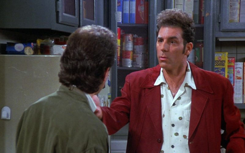Post Honeycomb Cereal in Seinfeld Season 8 Episode 1 The Foundation