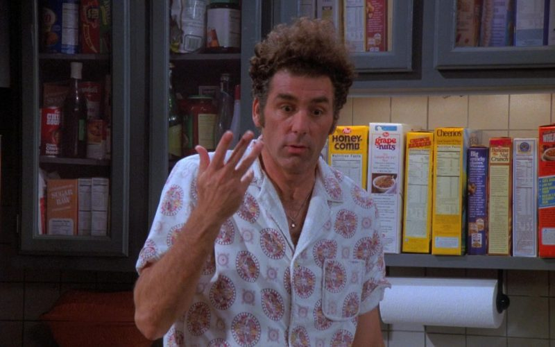 Post Honeycomb, Grape-Nuts and Cheerios Cereals in Seinfeld Season 7 Episode 5 The Hot Tub (1)