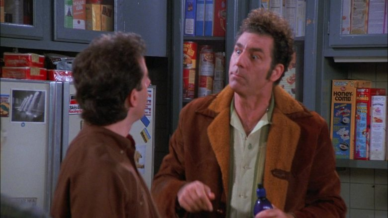 Post Honeycomb and Post Fruity Pebbles Cereals in Seinfeld Season 8 Episode 7 The Checks