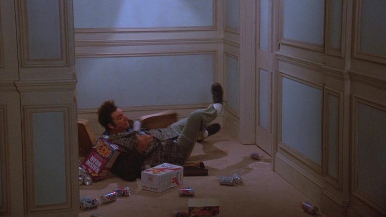 "Post Raisin Bran, Kellogg's, Diet Pepsi in Seinfeld Season 7 Episode 11 ""The Rye"" (1996) - TV Show Product Placement"