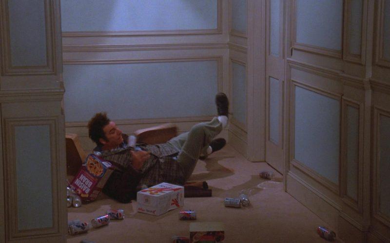 Post Raisin Bran, Kellogg's, Diet Pepsi in Seinfeld Season 7 Episode 11 The Rye