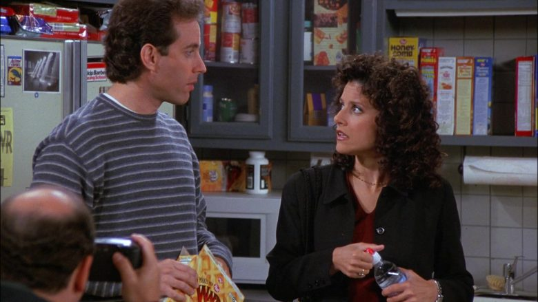 Post Waffle Crisp Cereal Enjoyed by Jerry Seinfeld in Seinfeld Season 8 Episode 5 The Package