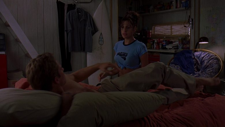Puma T-Shirt Worn by Eva Mendes as Monica Fuentes in 2 Fast 2 Furious (2)