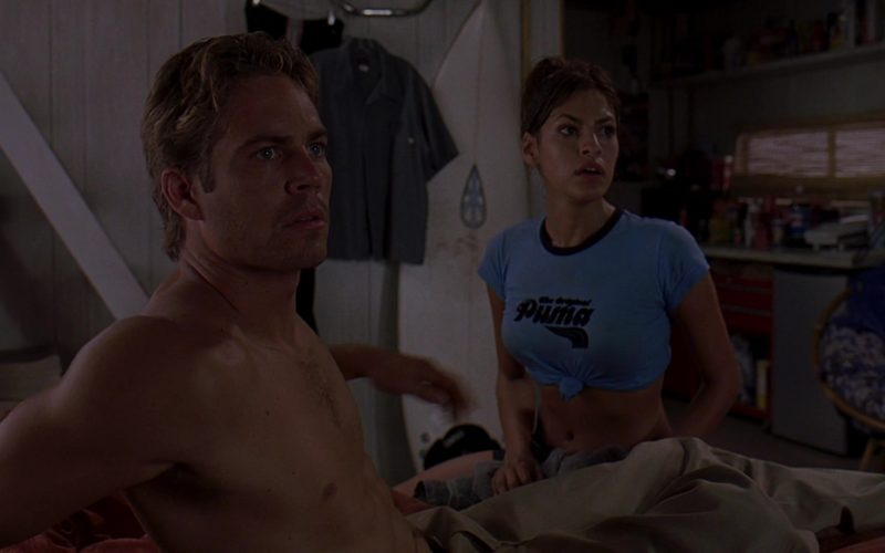 Puma T-Shirt Worn by Eva Mendes as Monica Fuentes in 2 Fast 2 Furious (3)