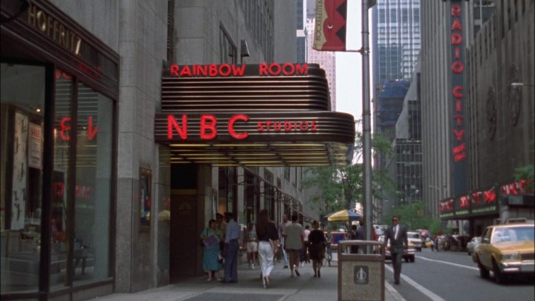Rainbow Room NBC Studios in Seinfeld Season 4 Episode 3 The Pitch