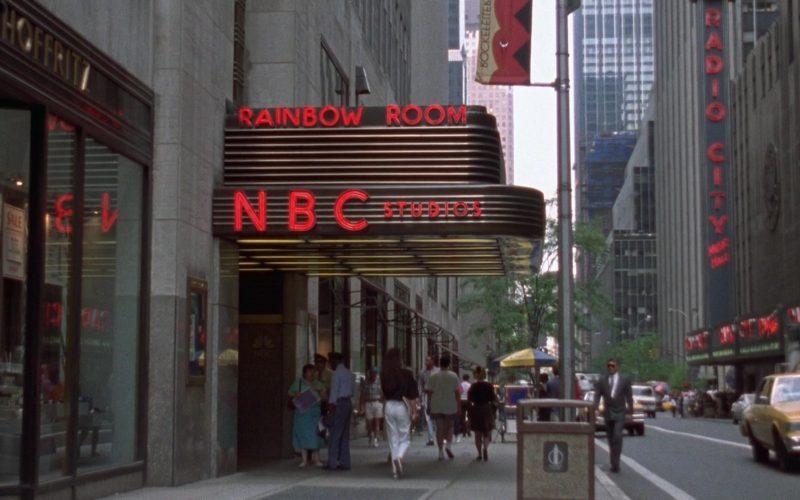 Rainbow Room NBC Studios in Seinfeld Season 4 Episode 3 The Pitch