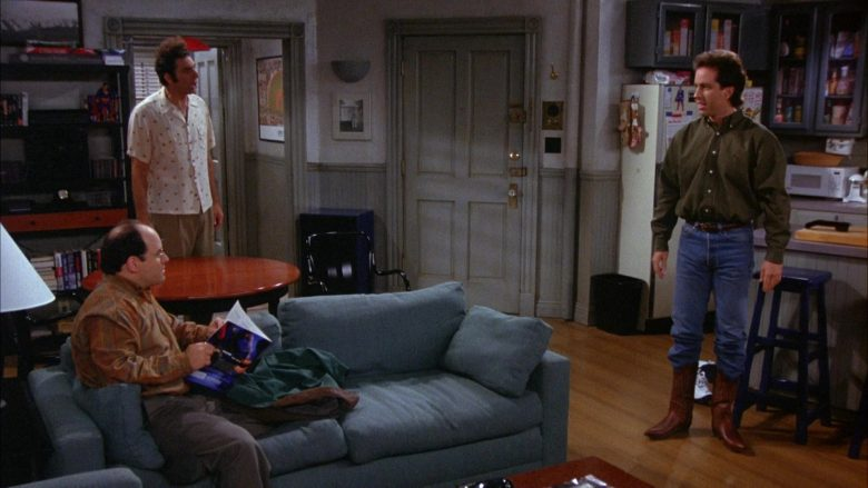 Ralph Lauren Green Long Sleeve Shirt Worn by Jerry Seinfeld in Seinfeld Season 6 Episode 8 The Mom & Pop Store (4)