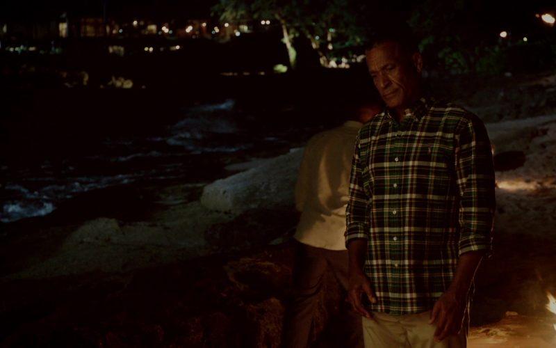 Ralph Lauren Green Plaid Long Sleeve Shirt Worn by Phil Morris in Same Time, Next Christmas