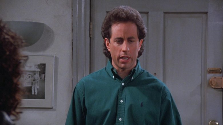 Ralph Lauren Green Shirt Worn by Jerry in Seinfeld Season 7 Episode 17 The Doll (2)