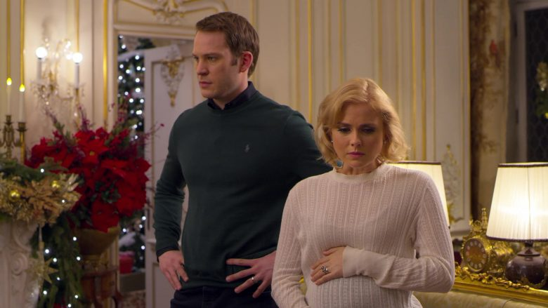 Ralph Lauren Green Sweater Worn by Ben Lamb in A Christmas Prince The Royal Baby (1)