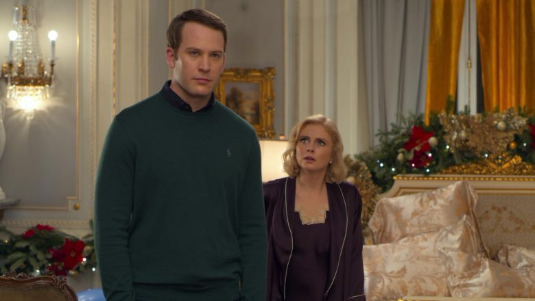 Ralph Lauren Green Sweater Worn by Ben Lamb in A Christmas Prince The Royal Baby (4)