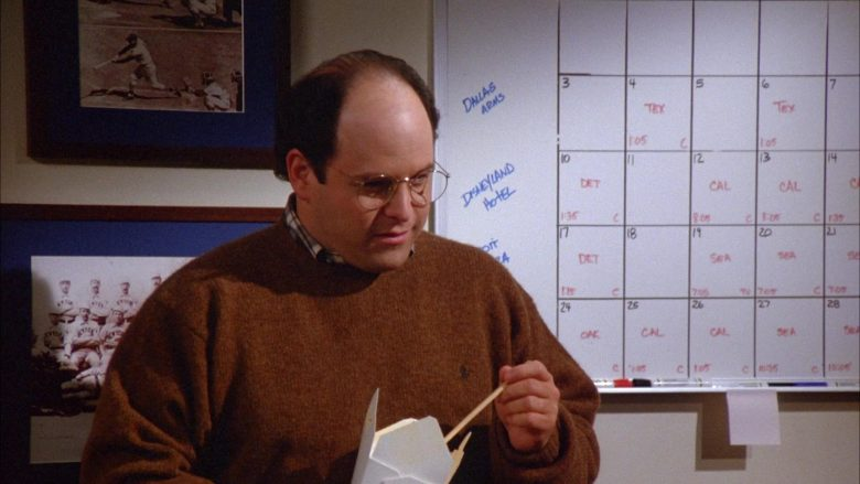 Ralph Lauren Knit Sweater For Men Worn by Jason Alexander as George Costanza in Seinfeld Season 6 Episode 9 (1)