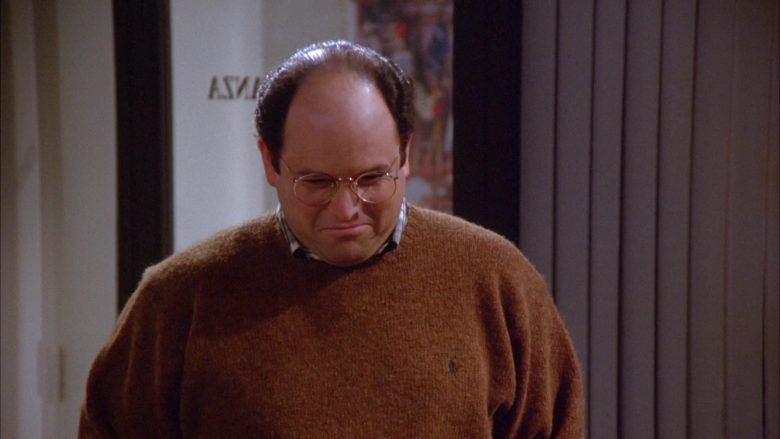 Ralph Lauren Knit Sweater For Men Worn by Jason Alexander as George Costanza in Seinfeld Season 6 Episode 9 (2)