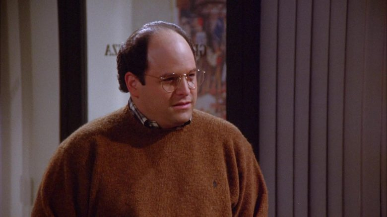 Ralph Lauren Knit Sweater For Men Worn by Jason Alexander as George Costanza in Seinfeld Season 6 Episode 9 (3)