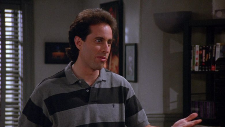 Ralph Lauren Polo Shirt Worn by Jerry Seinfeld in Seinfeld Season 6 Episode 5 The Couch (2)