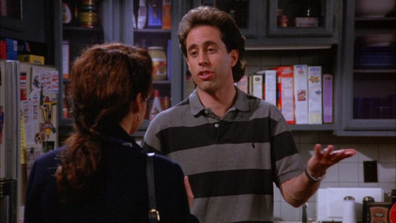Ralph Lauren Polo Shirt Worn by Jerry Seinfeld in Seinfeld Season 6 Episode 5 The Couch (4)
