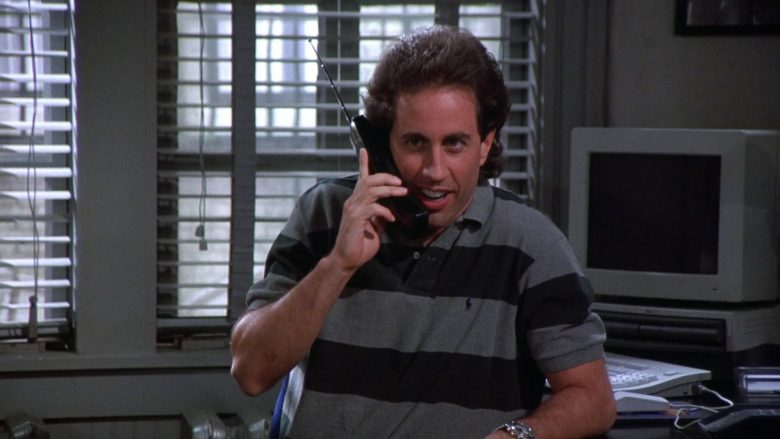 Ralph Lauren Polo Shirt Worn by Jerry Seinfeld in Seinfeld Season 7 Episode 1 (5)