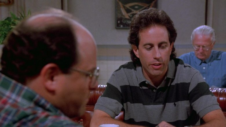 Ralph Lauren Striped Polo Shirt Worn by Jerry Seinfeld in Seinfeld Season 9 Episode 21 The Chronicle (3)