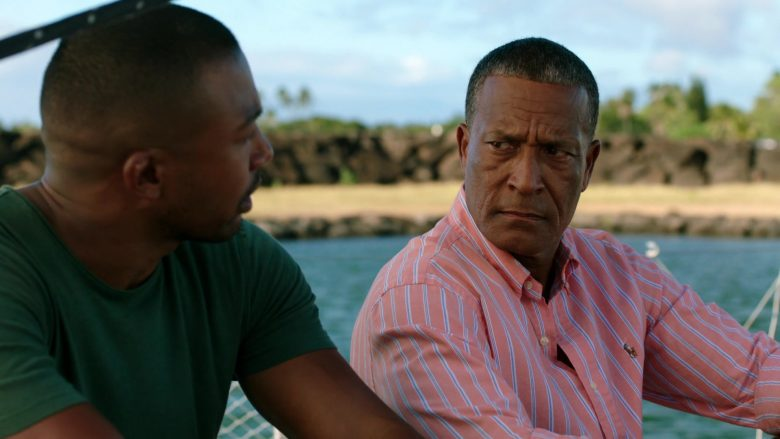 Ralph Lauren Striped Shirt Worn by Phil Morris in Same Time, Next Christmas (1)