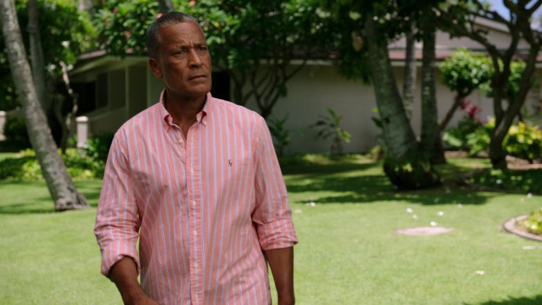 Ralph Lauren Striped Shirt Worn by Phil Morris in Same Time, Next Christmas (2)