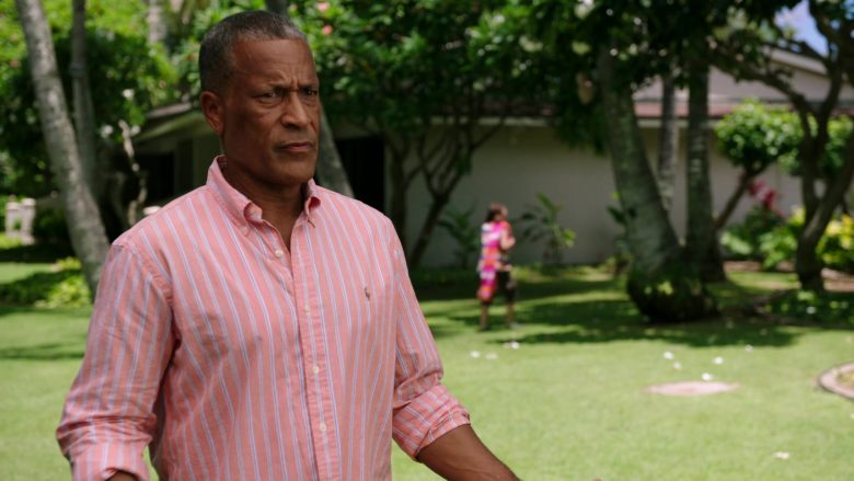 Ralph Lauren Striped Shirt Worn by Phil Morris in Same Time, Next Christmas (3)