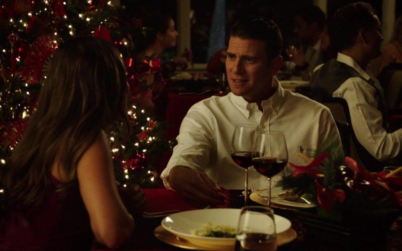 Ralph Lauren White Shirt Worn by Bryan Greenberg in Same Time, Next Christmas (1)