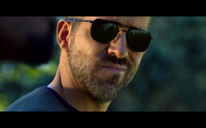 Randolph Sunglasses Worn by Ryan Reynolds in 6 Underground Movie (4)