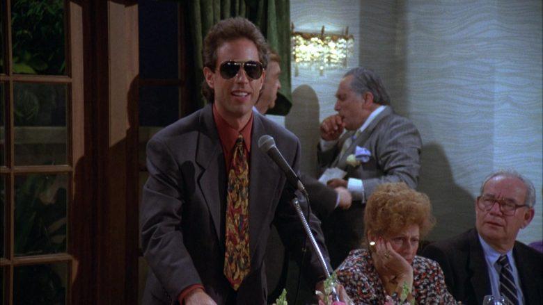 Ray-Ban Aviator Sunglasses Worn by Jerry Seinfeld in Seinfeld Season 3 Episode 3 The Pen (10)