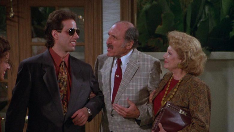 Ray-Ban Aviator Sunglasses Worn by Jerry Seinfeld in Seinfeld Season 3 Episode 3 The Pen (3)