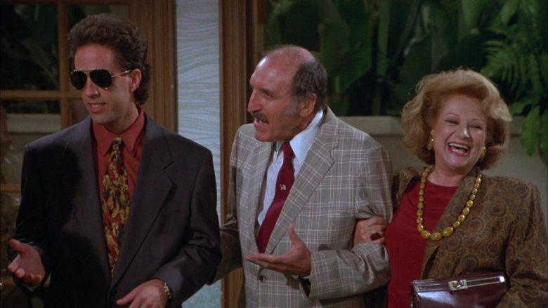 Ray-Ban Aviator Sunglasses Worn by Jerry Seinfeld in Seinfeld Season 3 Episode 3 The Pen (4)