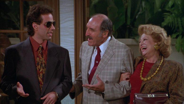 Ray-Ban Aviator Sunglasses Worn by Jerry Seinfeld in Seinfeld Season 3 Episode 3 The Pen (5)