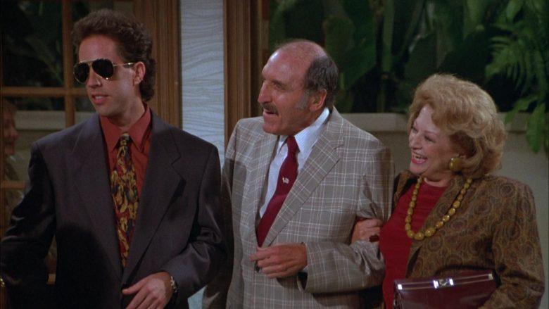 Ray-Ban Aviator Sunglasses Worn by Jerry Seinfeld in Seinfeld Season 3 Episode 3 The Pen (6)