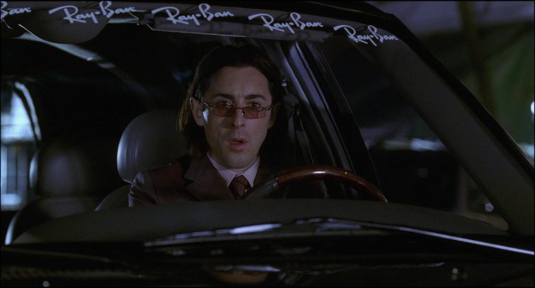 Ray-Ban Car Stickers Used by Alan Cumming in Josie and the Pussycats (1)