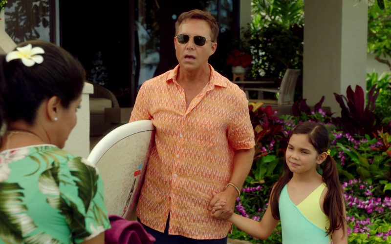 Ray-Ban Sunglasses For Men Worn by George Newbern in Same Time, Next Christmas