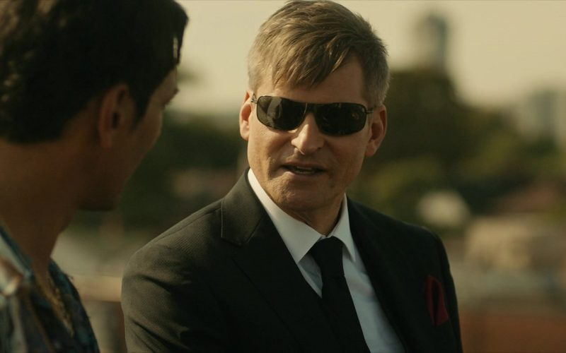 Ray-Ban Sunglasses Worn by Crispin Glover in Lucky Day (2019)