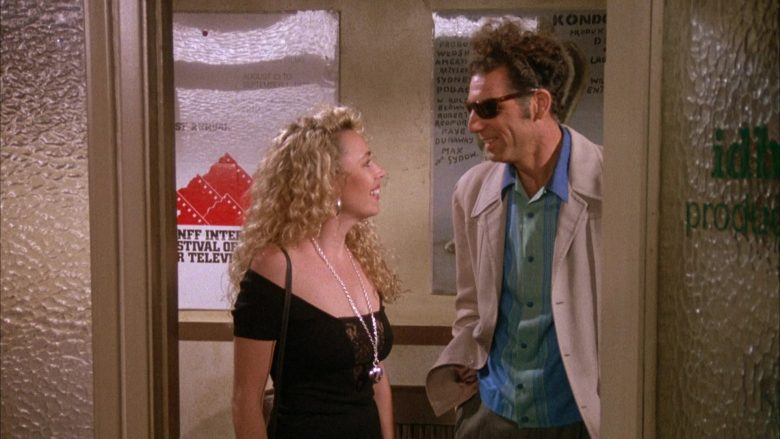 Ray-Ban Sunglasses Worn by Michael Richards as Cosmo Kramer in Seinfeld Season 4 Episode 1 (1)