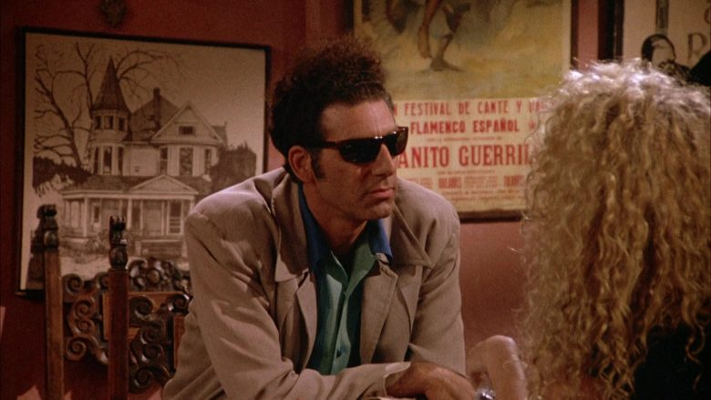 Ray-Ban Sunglasses Worn by Michael Richards as Cosmo Kramer in Seinfeld Season 4 Episode 1 (2)