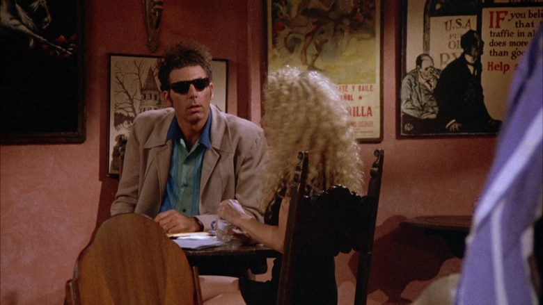 Ray-Ban Sunglasses Worn by Michael Richards as Cosmo Kramer in Seinfeld Season 4 Episode 1 (3)