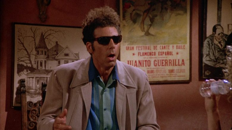 Ray-Ban Sunglasses Worn by Michael Richards as Cosmo Kramer in Seinfeld Season 4 Episode 1 (4)