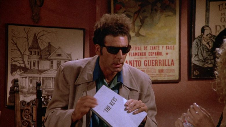 Ray-Ban Sunglasses Worn by Michael Richards as Cosmo Kramer in Seinfeld Season 4 Episode 1 (5)
