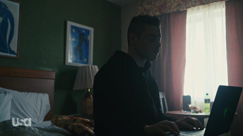 Razer Laptop Used by Rami Malek as Vigilante Hacker Elliot Alderson in Mr. Robot Season 4 Episode 10 (1)