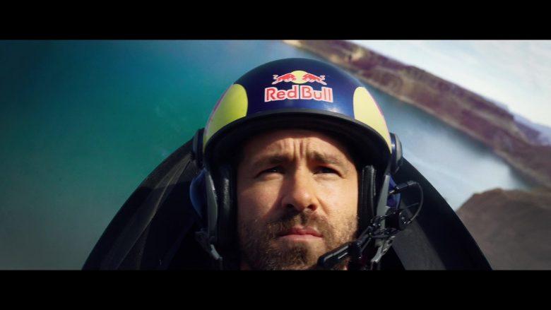 Red Bull Helmet Worn by Ryan Reynolds in 6 Underground (2)