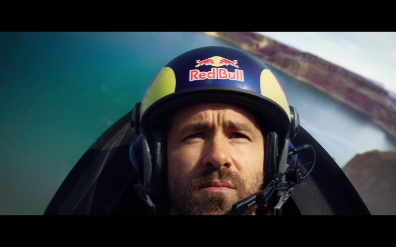 Red Bull Helmet Worn by Ryan Reynolds in 6 Underground (2)