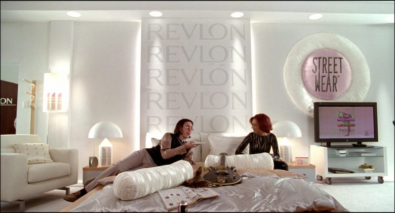 Revlon Cosmetics Company Logos in Josie and the Pussycats (5)